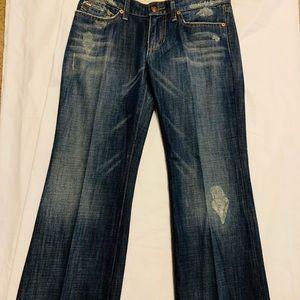 NWOT Distressed, Pre-Creased Joes Jeans